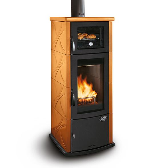 Stufa a legna (con forno) ROYAL – DADA FORNO