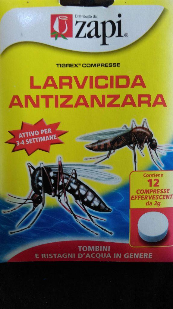 larvicida zanzare