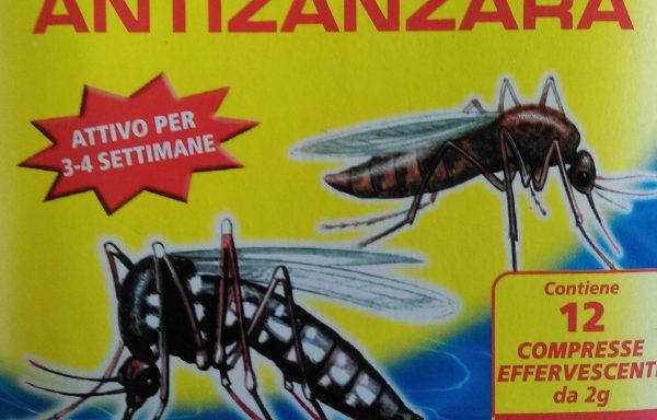 Larvicida anti zanzare