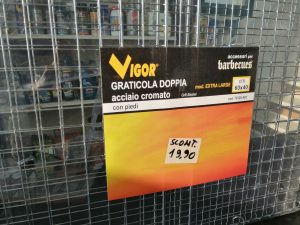 GRATICOLA DOPPIA 60X40