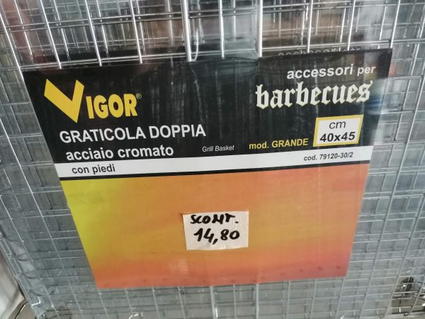GRATICOLA DOPPIA 40X45